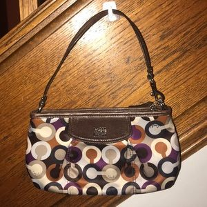 Small Used Coach Shoulder Bag